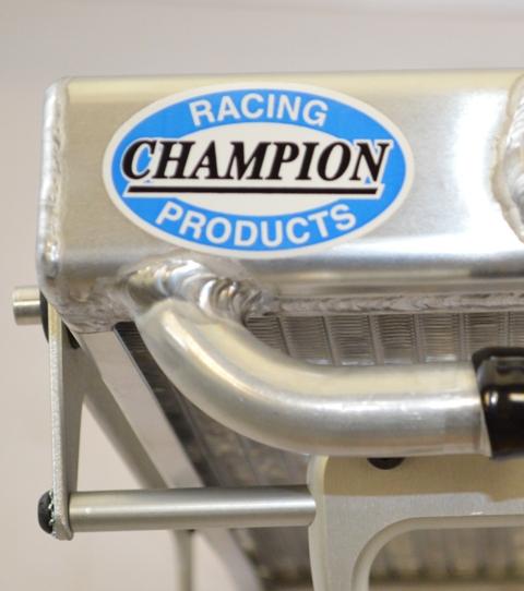 Champion Racing Logo - Radiators