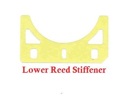 SwedeTech Honda CR125 Reed Stiffener Replacement - Stock Honda
