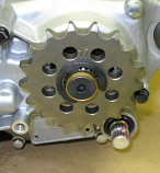 CR125 Countershaft Sprocket -428