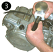 How To Install Piston circlip clip