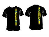 SwedeTech T-Shirt w Vertical Logo