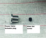 SRE CR125 Power Valve Actuator Plug